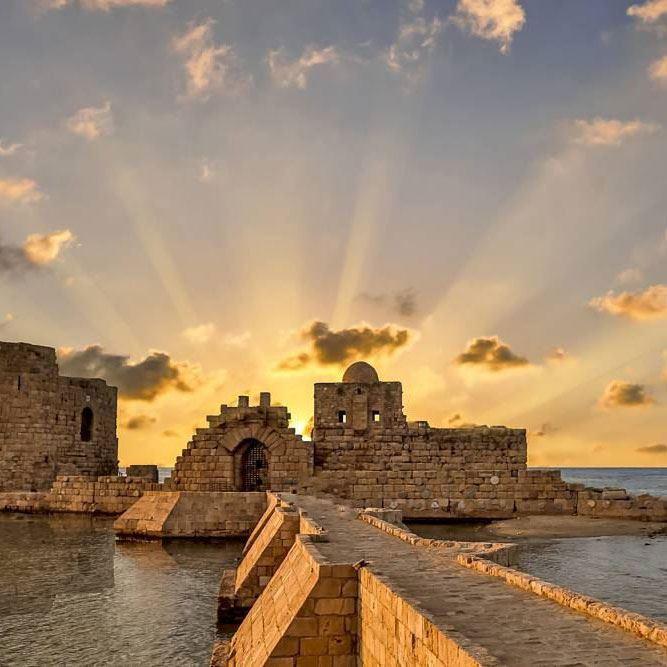 قلعة صيدا البحرية