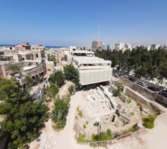 Freres College Archaeological Excavation | Museum Saida History