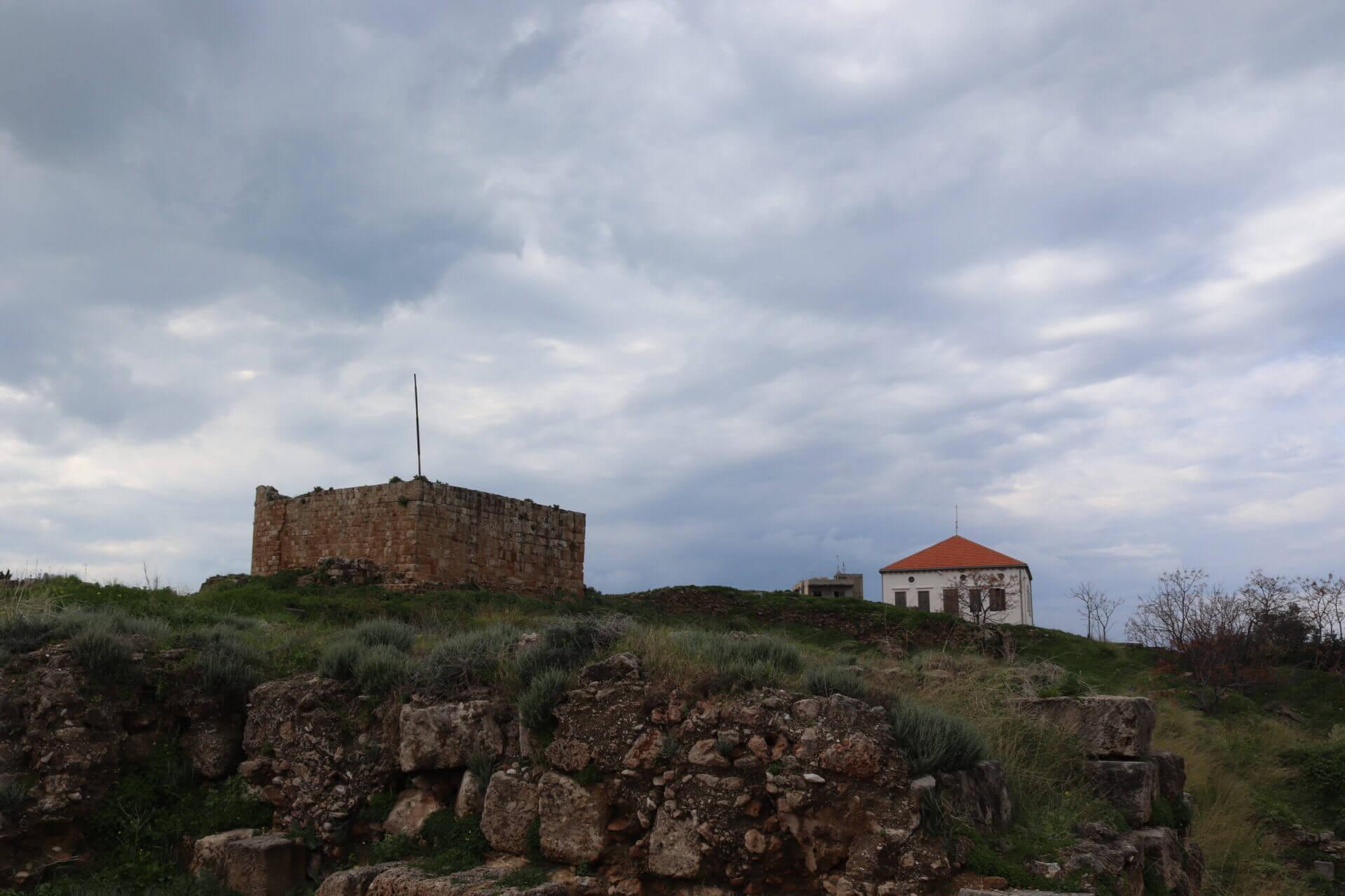 قلعة صيدا البرية | قلعة سان لويس